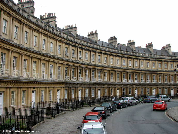 The Royal Crescent, Bath - See the Best of England: A Three Week Itinerary - The Trusted Traveller