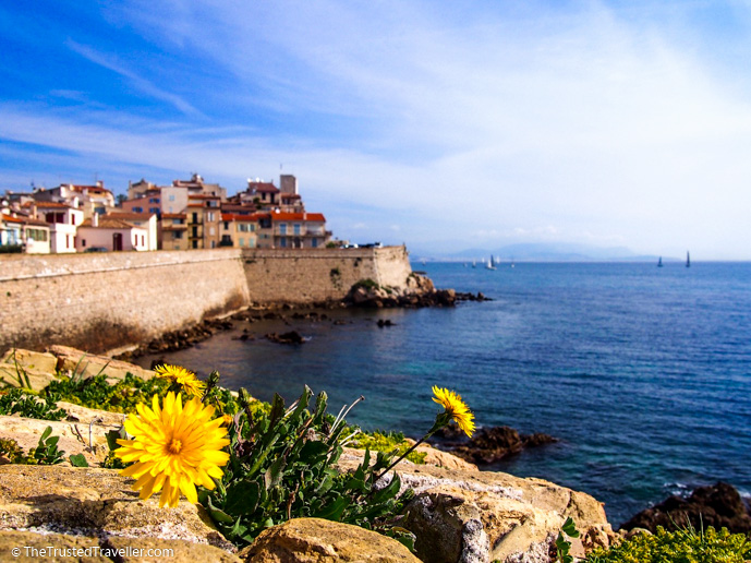 Antibes, one of the towns on the French Riviera - Things to Do in Nice - The Trusted Traveller