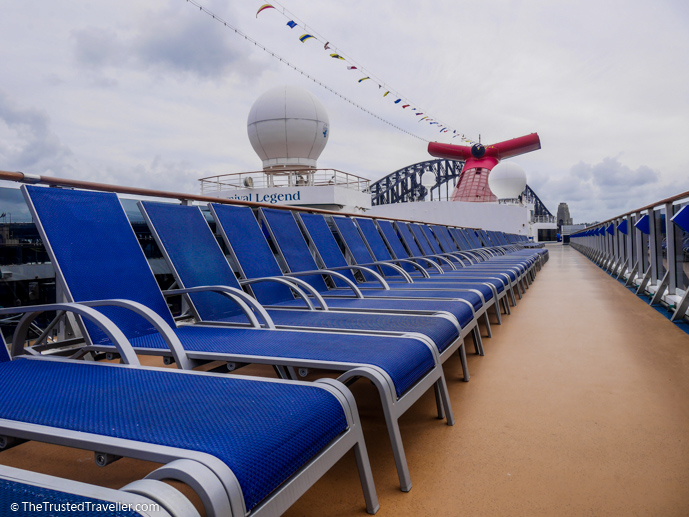 The perfect place to chill while on-board - Cruise to Nowhere: 7 Reasons Why We Loved It - The Trusted Traveller