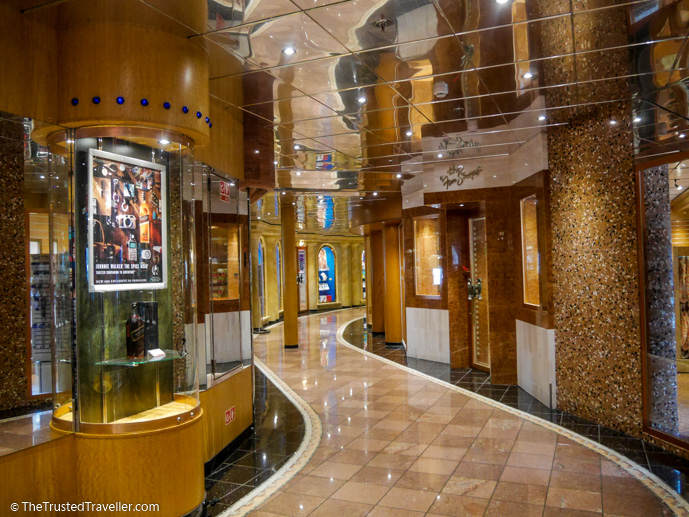 The ship had it's very own rodeo drive - Cruise to Nowhere: 7 Reasons Why We Loved It - The Trusted Traveller