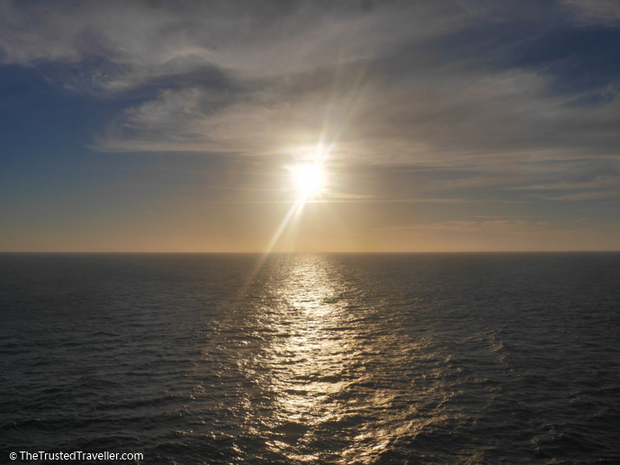 Sunseting over the ocean - Cruise to Nowhere: 7 Reasons Why We Loved It - The Trusted Traveller