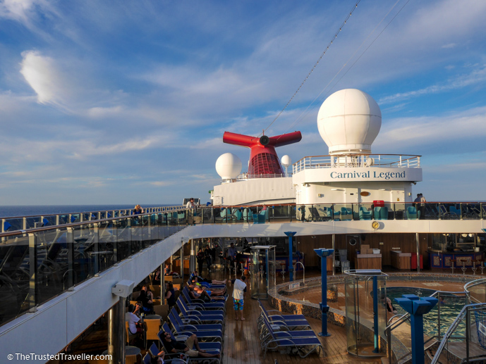 Afternoon on deck - Cruise to Nowhere: 7 Reasons Why We Loved It - The Trusted Traveller