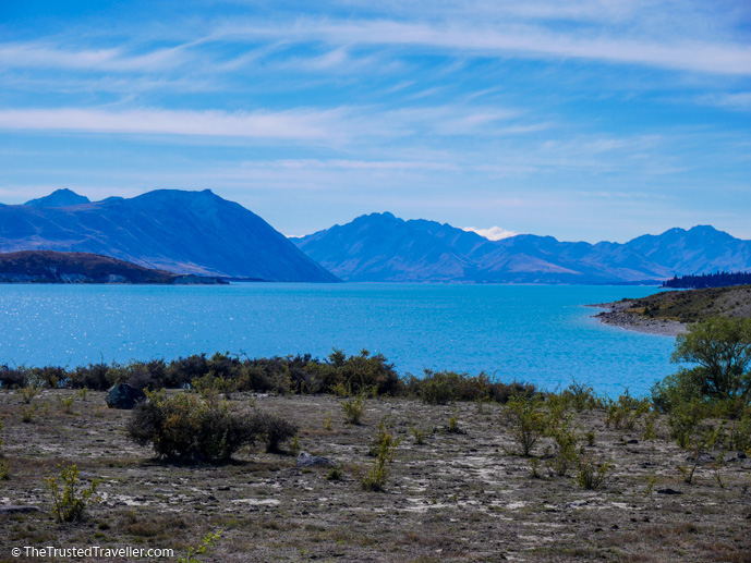 Lake Tekapo - The 10 Most Stunning Lakes on New Zealand's South Island - The Trusted Traveller