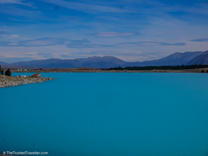 Lake Pukaki - The 10 Most Stunning Lakes on New Zealand's South Island - The Trusted Traveller