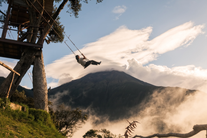 Swings at the End of the World, Ecuador - You Won't Believe Your Eyes: 6 Incredible Places Around the Globe - The Trusted Traveller