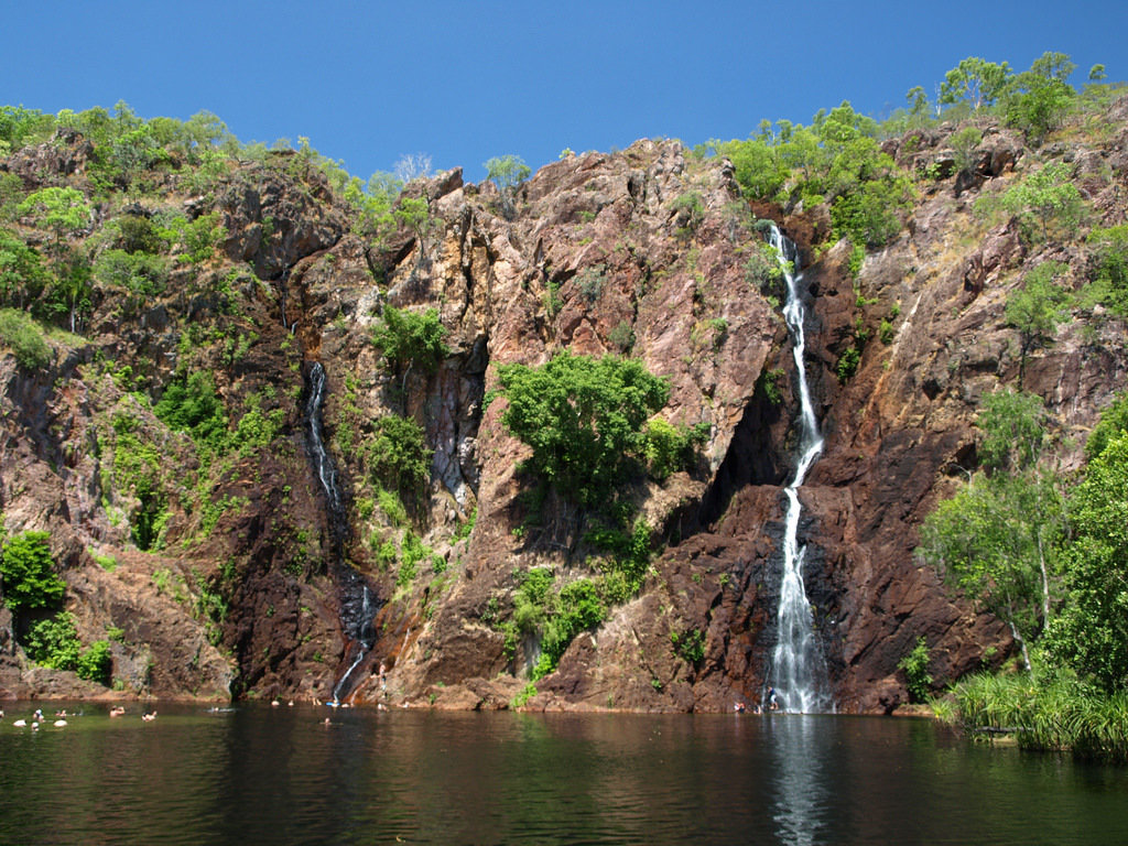 Litchfield National Park swimming hole - 5 Aussie Weekend Getaway Ideas Off The Beaten Path - The Trusted Traveller