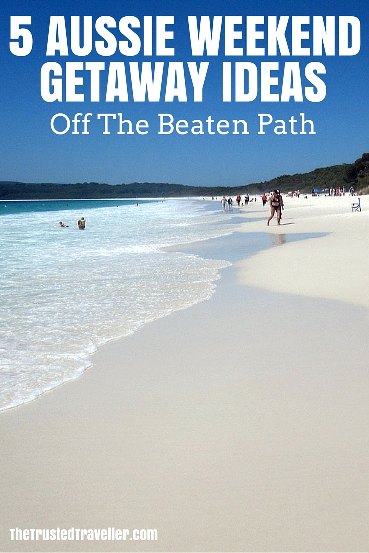 Hyams Beach in jervis Bay - 5 Aussie Weekend Getaway Ideas Off The Beaten Path - The Trusted Traveller