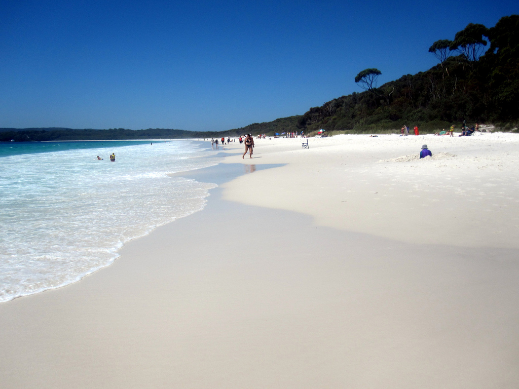 Hyams Beach in jervis Bay - The Trusted Traveller