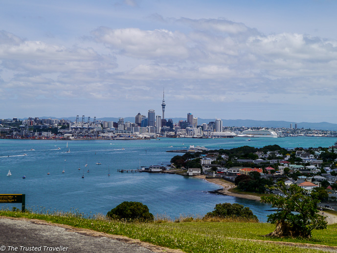 Auckland from a volcano - Top 5 DreamTrips Destinations in Australia and New Zealand - The Trusted Traveller