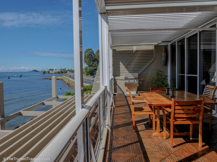 The terrace - Bay Breeze Boutique Motel: Luxury on the Eurobodalla Coast - The Trusted Traveller