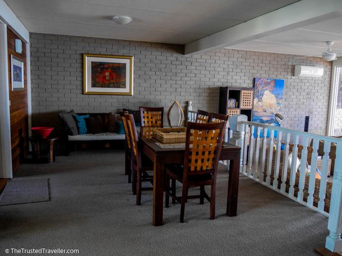 The dining area - Bay Breeze Boutique Motel: Luxury on the Eurobodalla Coast - The Trusted Traveller