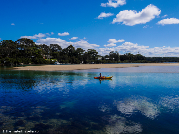 Kayaking at Mossy Point - The Trusted Traveller