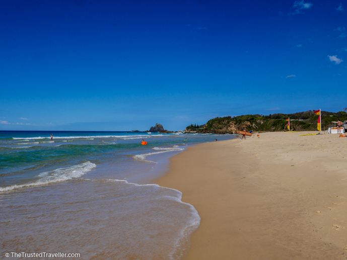 Surf Beach at Narooma - The Trusted Traveller