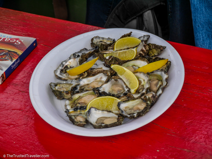 A delicious plate of Sydney Rock Oysters - A Magical Oyster Tour on the NSW South Coast - The Trusted Traveller