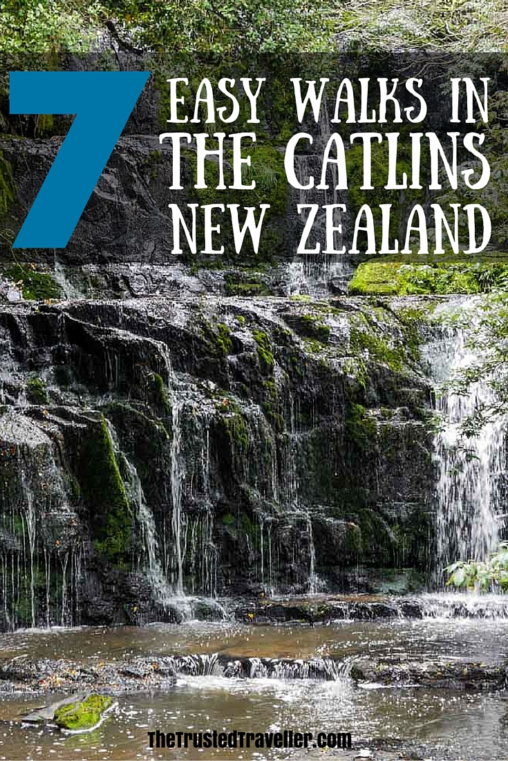 Purakaunui Falls - 7 Easy Walks in The Catlins, New Zealand - The Trusted Traveller