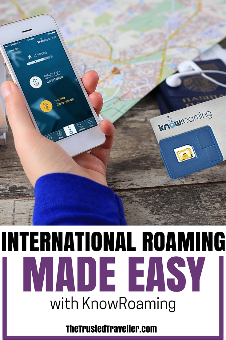 The KnowRoaming Global SIM Sticker saves you up to 85% on your international roaming charges - International Roaming Made Easy with KnowRoaming - The Trusted Traveller