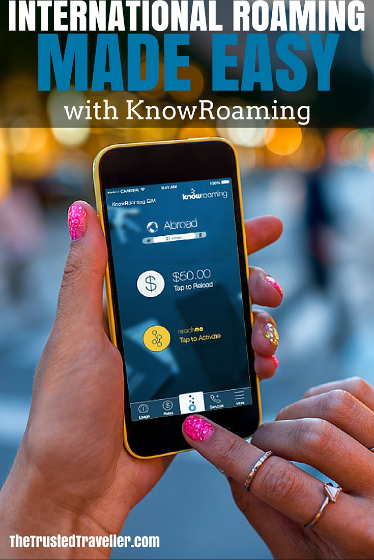 The KnowRoaming app helps you track what you've spent and has many more benefits - International Roaming Made Easy with KnowRoaming - The Trusted Traveller