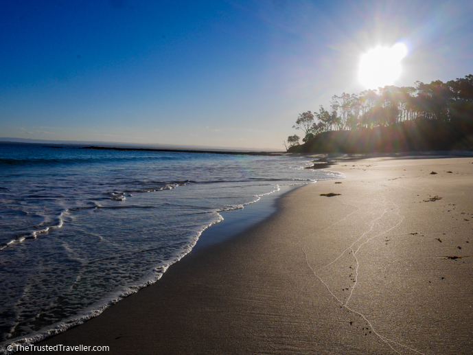 Cabbage Tree Beach, Jervis Bay - The 16 Best NSW South Coast Beaches - The Trusted Traveller