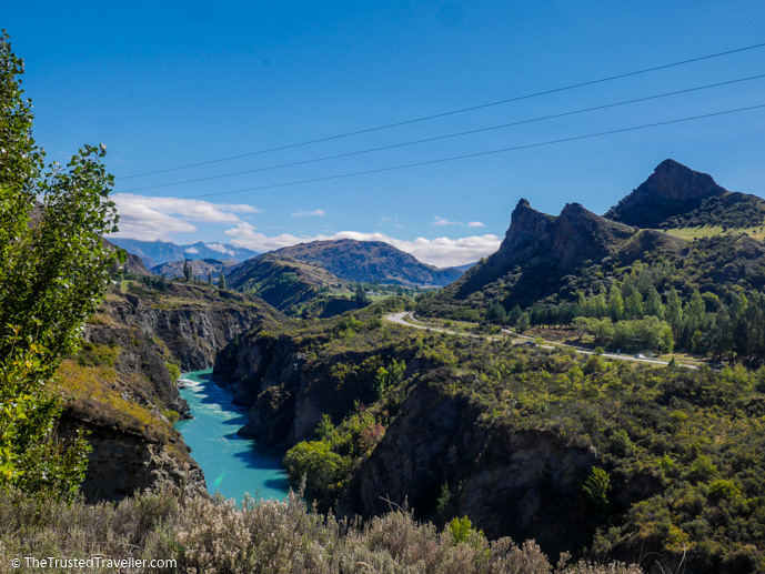 Kawarau River running through the Gibbston Valley - Self Guided Wine Tour of the Gibbston Valley, New Zealand - The Trusted Traveller