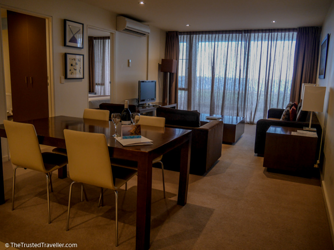 The open plan living area - Wyndham Resort Torquay: Surf Coast Comfort - The Trusted Traveller