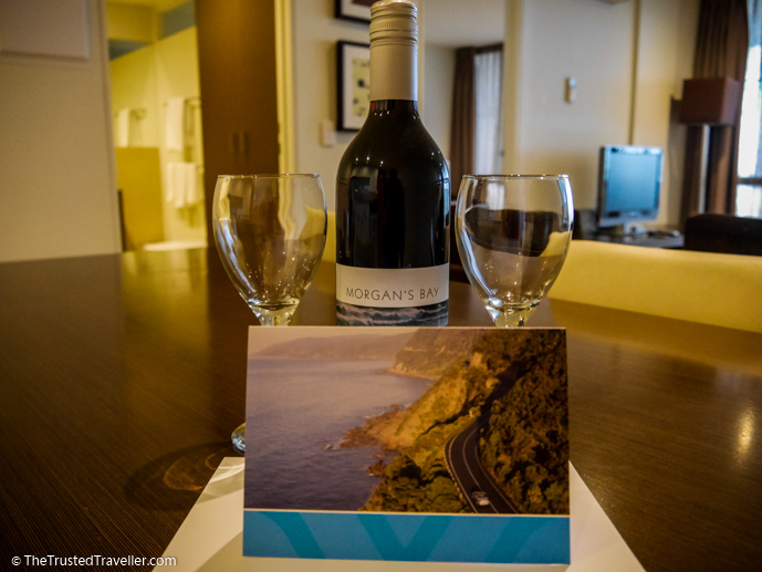 A lovely welcome to the resort - Wyndham Resort Torquay: Surf Coast Comfort - The Trusted Traveller