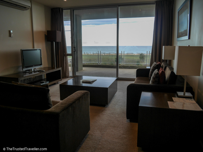 Cosy living area with lovely views - Wyndham Resort Torquay: Surf Coast Comfort - The Trusted Traveller