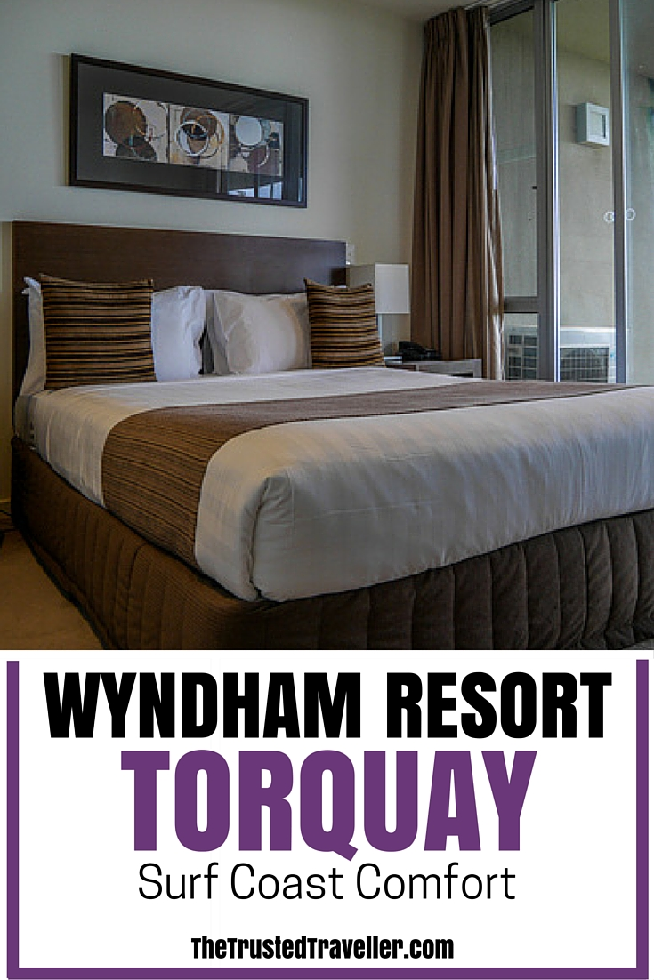 A good night sleep in this comfortable bed - Wyndham Resort Torquay: Surf Coast Comfort - The Trusted Traveller