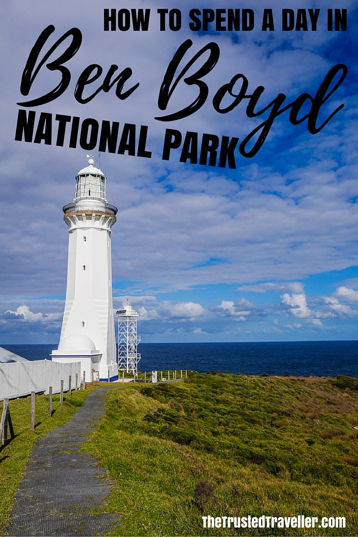 Green Cape Lighthouse - How to Spend a Day in Ben Boyd National Park - The Trusted Traveller