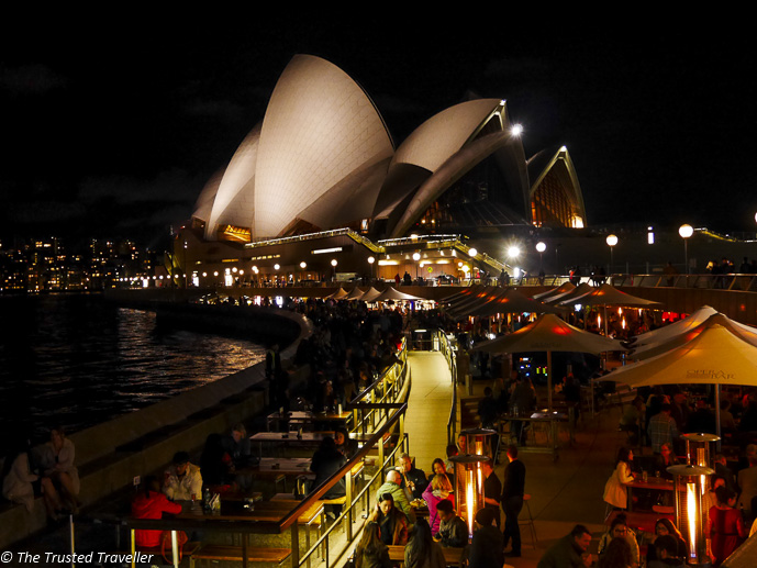 Opera Bar - 48 Hours in Sydney: The Perfect Weekend Getaway - The Trusted Traveller