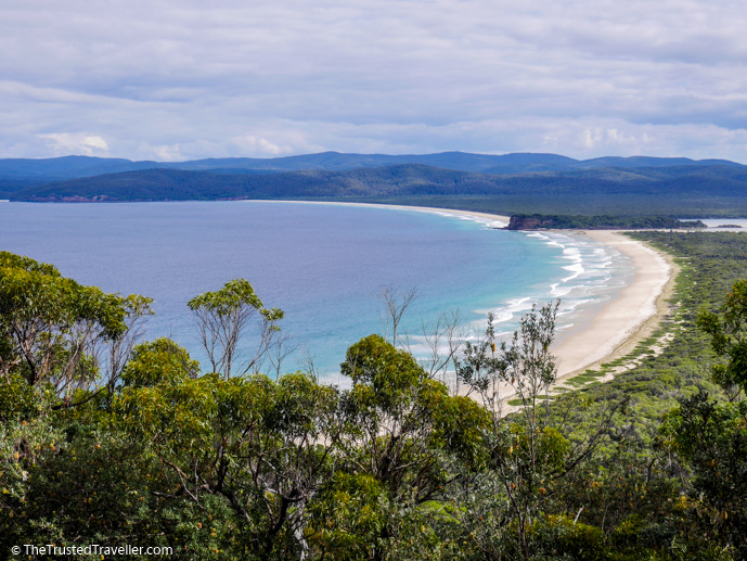 Disaster Bay Lookout - How to Spend a Day in Ben Boyd National Park - The Trusted Traveller
