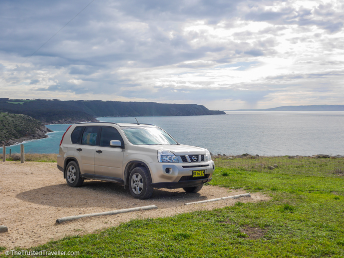 We brought our own car over on the ferry - How to Get to Kangaroo Island (plus the best ways to get around) - The Trusted Traveller