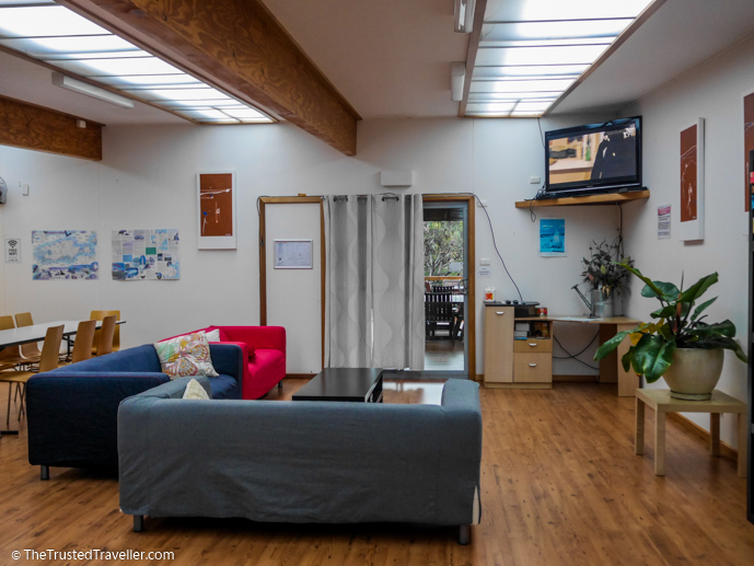 A cosy space to relax and watch TV - Vivonne Bay Lodge: Kangaroo Islands Best Flashpacker Accommodation - The Trusted Traveller