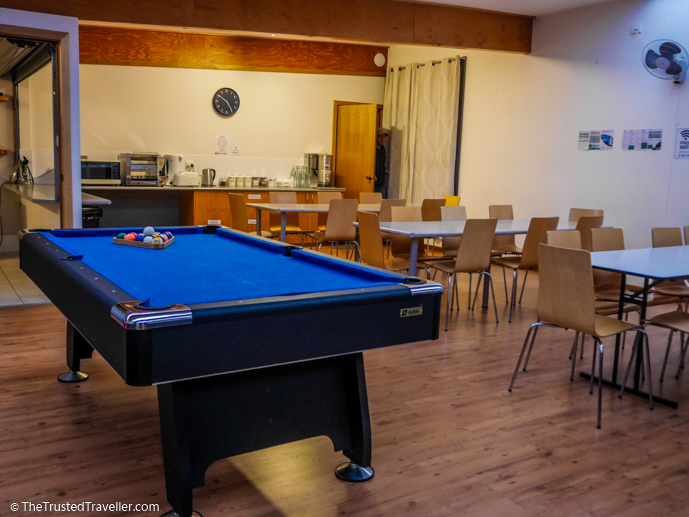 The pool table in the lounge/dining area - Vivonne Bay Lodge: Kangaroo Islands Best Flashpacker Accommodation - The Trusted Traveller