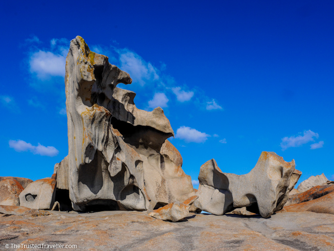 The Remarkable Rocks. One of the highlights you'll see when touring Kangaroo Island with SeaLink - How to Get to Kangaroo Island (plus the best ways to get around) - The Trusted Traveller