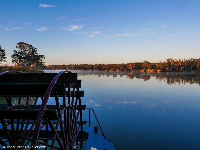 The paddlewheel of the vessel - Our Luxury Murray River Cruise Aboard the PS Murray Princess - The Trusted Traveller