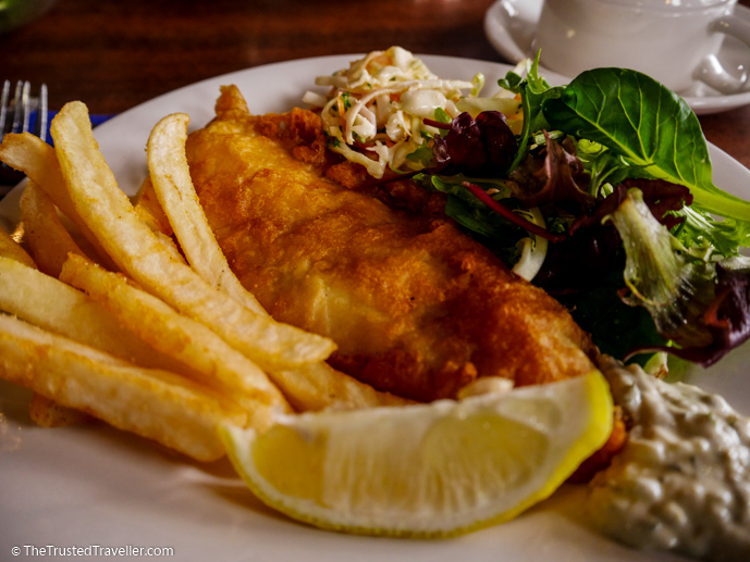 Fish & Chips - Our Luxury Murray River Cruise Aboard the PS Murray Princess - The Trusted Traveller