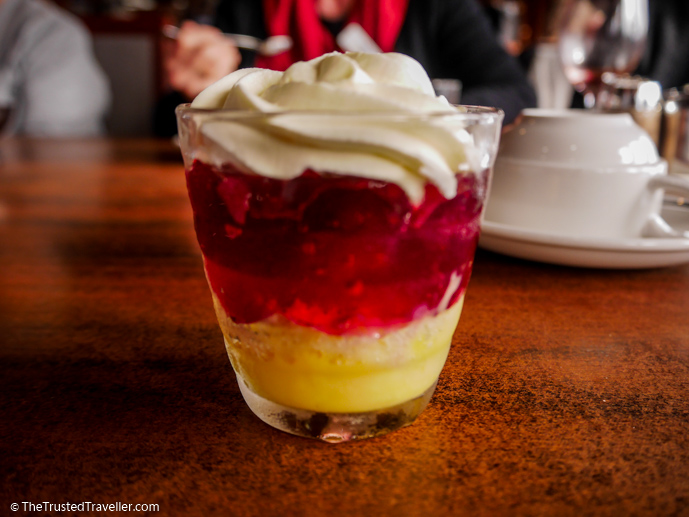 Trifle - Our Luxury Murray River Cruise Aboard the PS Murray Princess - The Trusted Traveller
