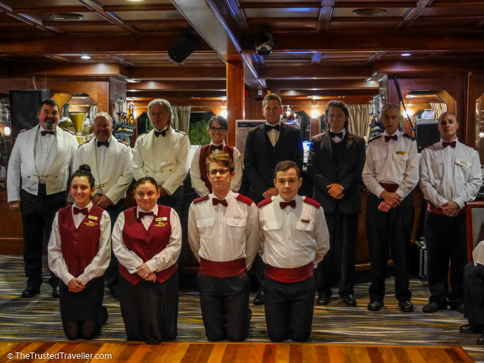 Our fabulous crew - Our Luxury Murray River Cruise Aboard the PS Murray Princess - The Trusted Traveller