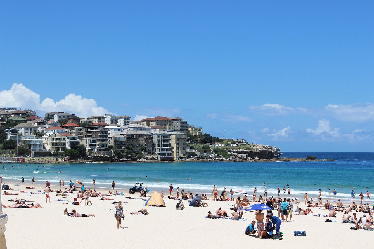 Bondi Beach - 48 Hours in Sydney: The Perfect Weekend Getaway - The Trusted Traveller