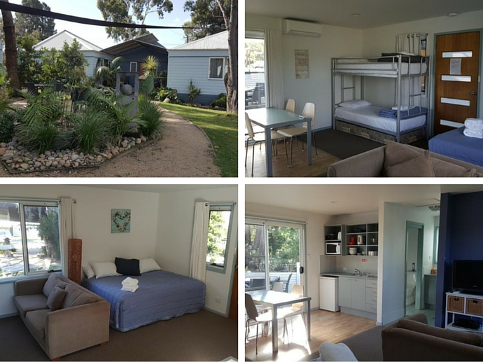 Huskisson Holiday Cabins in Jervis Bay - The Best Self-Contained NSW South Coast Accommodation - The Trusted Traveller