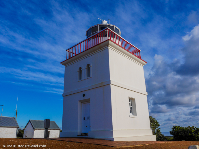 Cape Bourda Lighthouse in Flinders Chase National Park - Things to Do on Kangaroo Island - The Trusted Traveller