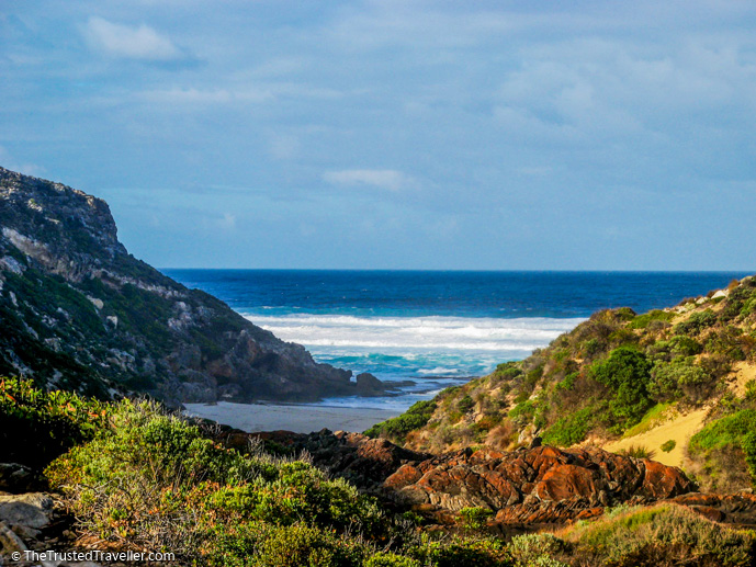 Where the Rocky River meets the sea on the Snake Lagoon Walk - What to See & Do in Flinders Chase National Park, Kangaroo Island - The Trusted Traveller