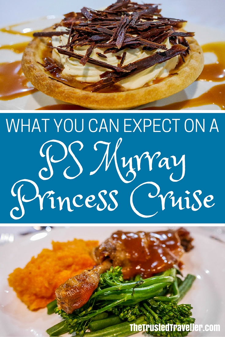 With three delicious meals a day, you won't go hungry on a PS Murray River Cruise - 7 Things You Can Expect on a PS Murray Princess Cruise - The Trusted Traveller