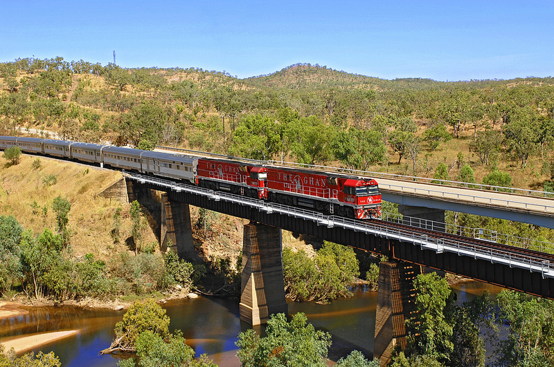 The Ghan (image credit) - The Complete Guide to Getting Around Australia - The Trusted Traveller