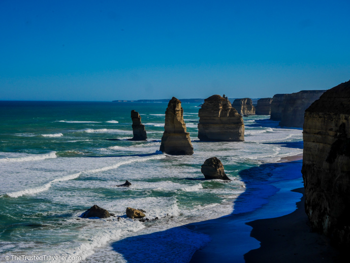 The Twelve Apostiles on the Great Ocean Road - The Complete Guide to Getting Around Australia - The Trusted Traveller