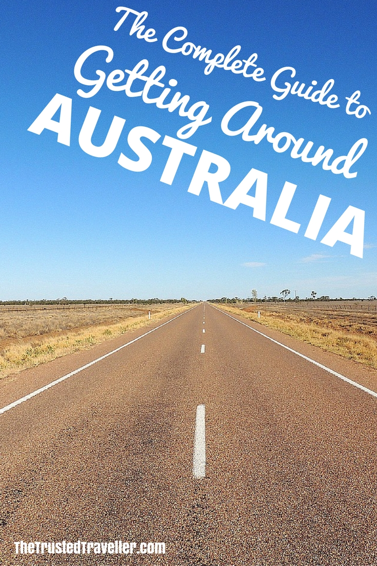 Australia's a big country, so being prepared in terms of how you're going to get around is important. Our guide will help you do just that and make your Australia travel planning simple and stress-free - The Complete Guide to Getting Around Australia - The Trusted Traveller