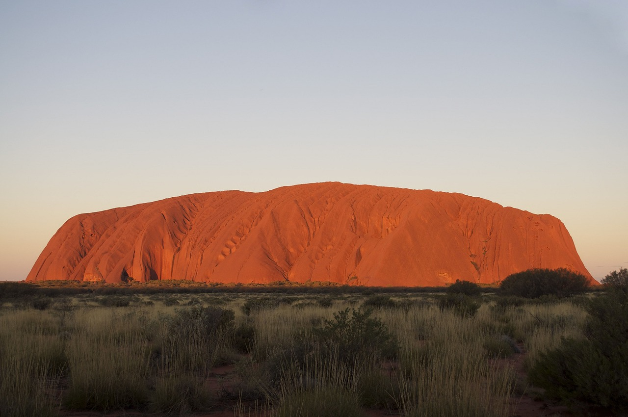Ayres Rock, a big rock in a big country - The Complete Guide to Getting Around Australia - The Trusted Traveller