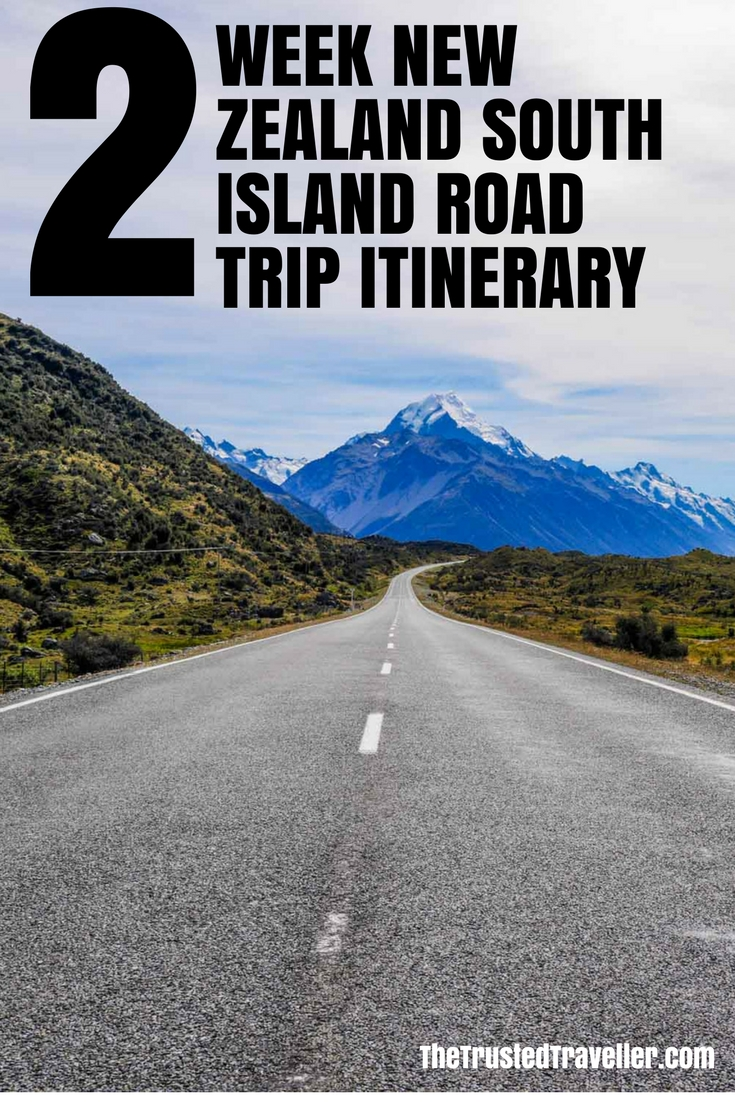 two week new zealand south island road trip itinerary. Black Bedroom Furniture Sets. Home Design Ideas