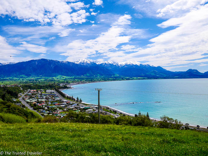 Kaikoura from Peninsula Lookout - Two Week New Zealand South Island Road Trip Itinerary - The Trusted Traveller