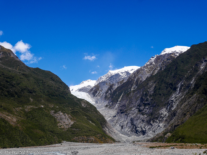 Franz Josef Glacier - Two Week New Zealand South Island Road Trip Itinerary - The Trusted Traveller